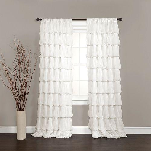 "Lush Decor 1-pack Olivia Window Curtain - 50"" x 84"""