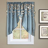 Lush Decor Flower Drops Swag Curtain Pair - 58
