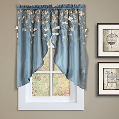 Lush Decor Flower Drops Swag Curtain Pair - 58' x 39'