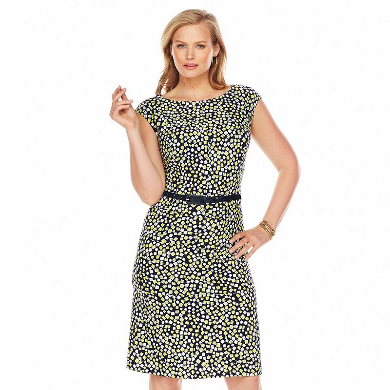 Turmec » patra plus size short-sleeve tiered dress
