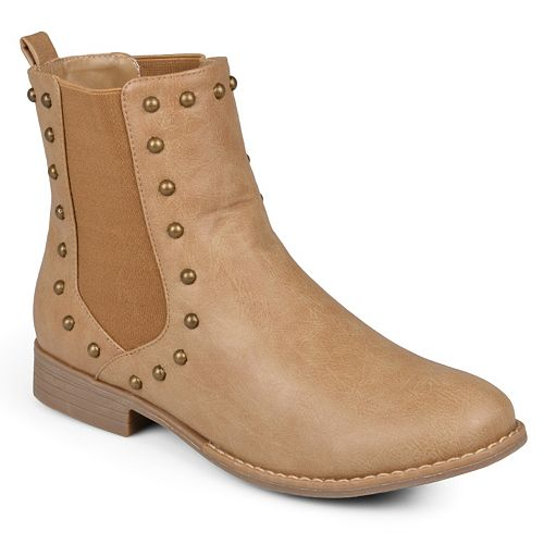 Journee Collection Bend Women's Studded Chelsea Boots
