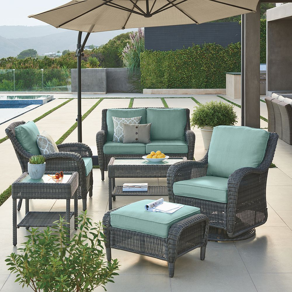 - SONOMA Goods For Life™ Presidio Patio Loveseat Glider