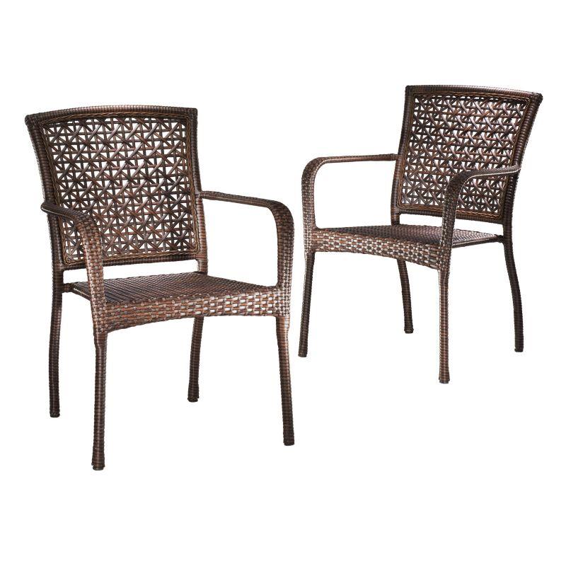 Brown Resin Outdoor Furniture
