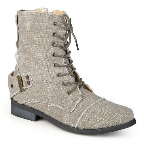 Journee Collection Zafrina Women's Lace-Up Ankle Boots