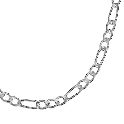 PRIMROSE Sterling Silver Figaro Chain Necklace - 24-in.