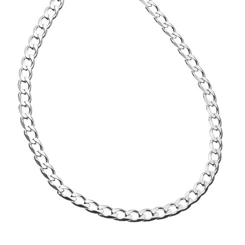 PRIMROSE Sterling Silver Curb-Link Chain Necklace - 20-in.