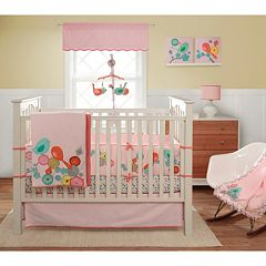 Bananafish MiGi Modern Blossom 3 pc Crib Set