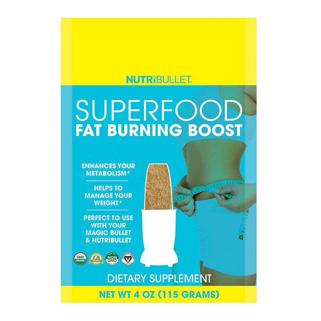 NutriBullet SuperFood Fat Burning Boost Mix