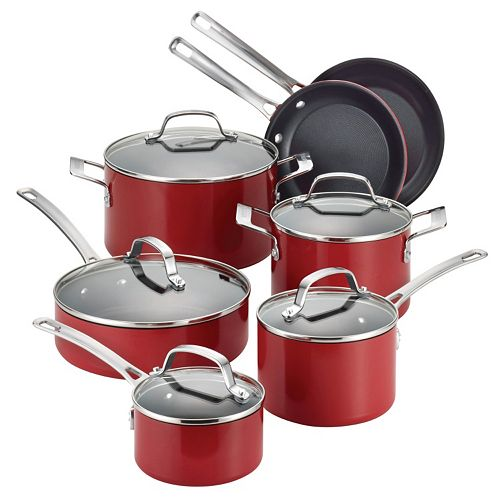 Circulon Genesis 12-pc. Nonstick Aluminum Cookware Set