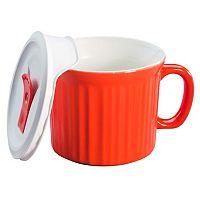 CorningWare French White 20-oz. Mug with Vented Cover