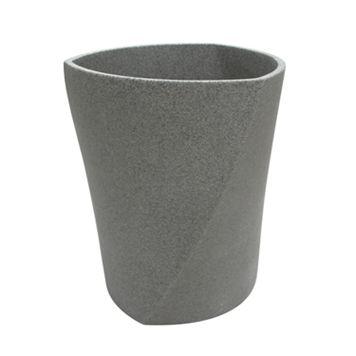 Geo Stone Wastebasket