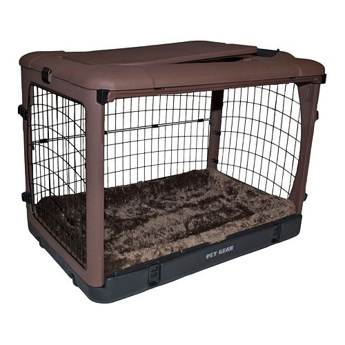 Pet Gear The Other Door 27-in. Steel Crate with Pad