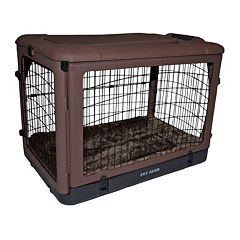 Pet Gear The Other Door 36 in Steel Crate with Pad