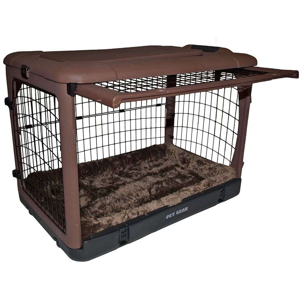 Pet Gear The Other Door 36-in. Steel Crate with Pad
