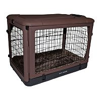 Pet Gear The Other Door 42 in Steel Crate with Pad