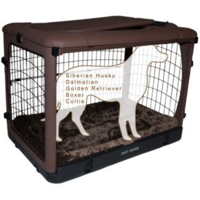 Pet Gear The Other Door 42-in. Steel Crate with Pad