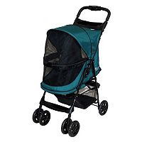 Pet Gear Happy Trails No-Zip Pet Stroller