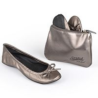 Sidekicks Side Women's Foldable Ballet Flats