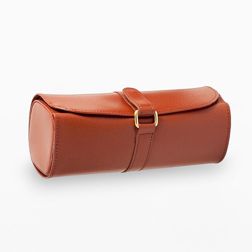 Bey-Berk Leather Jewelry Roll
