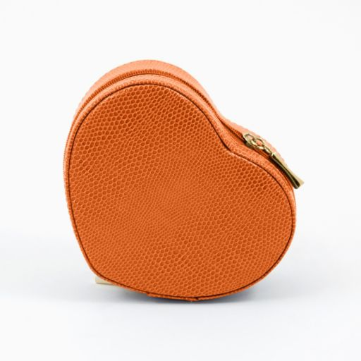 Bey-Berk Leather Heart Jewelry Box