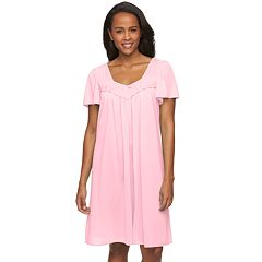 Women's Miss Elaine Essentials Pajamas: Short Tricot Nightgown