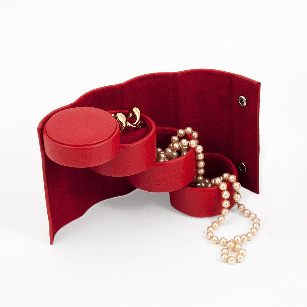 Bey-Berk Swivel Jewelry Roll