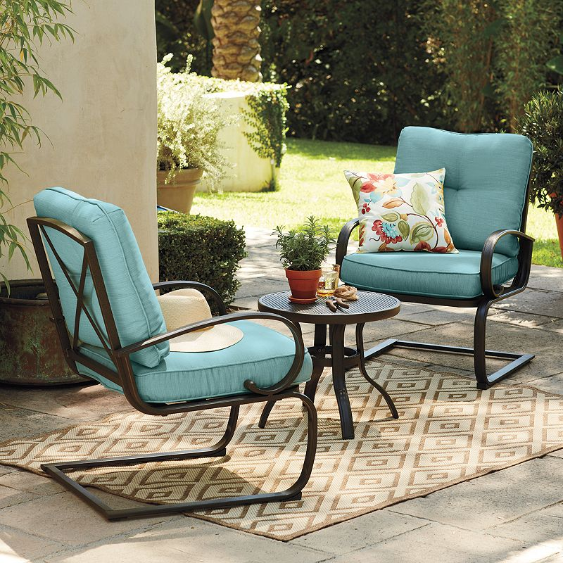 Cushioned patio outdoor furniture kohl 39 s for Outdoor furniture kohls