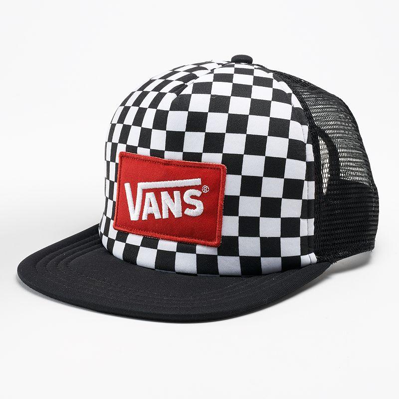 Vans Checked Trucker Hat - Men