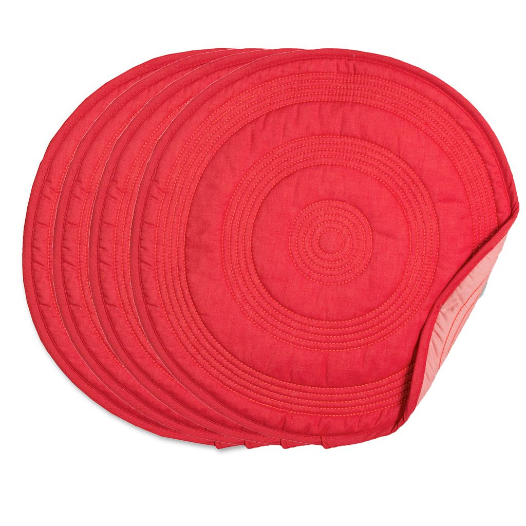 Fiesta Target Quilted 4-pk. Placemats