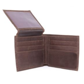 Nebraska Cornhuskers Leather Bifold Wallet