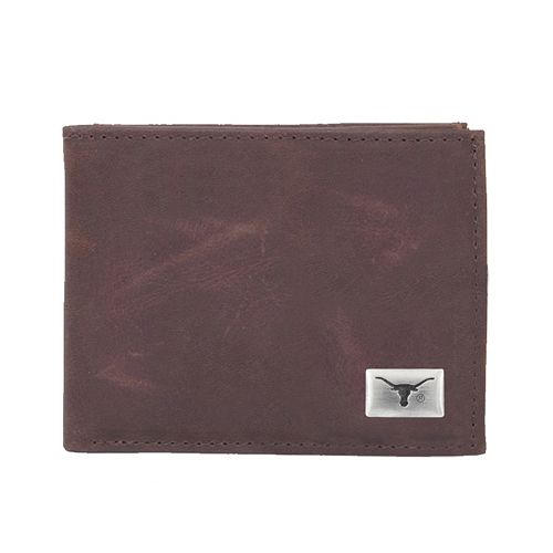 Texas Longhorns Leather Bifold Wallet