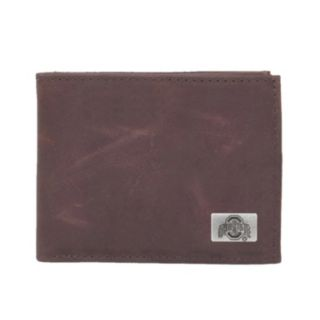 Ohio State Buckeyes Leather Bifold Wallet