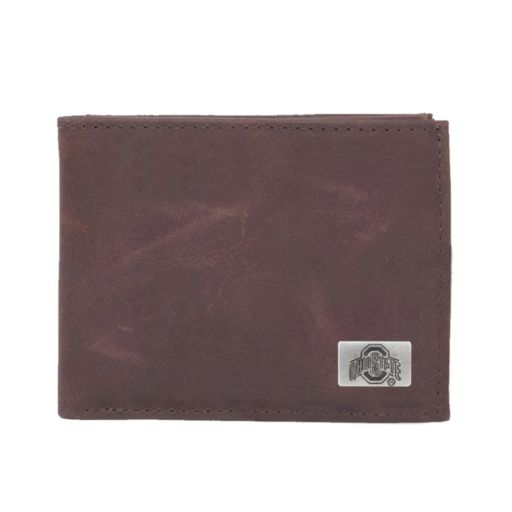 Ohio State Buckeyes Leather Bifold Wallet