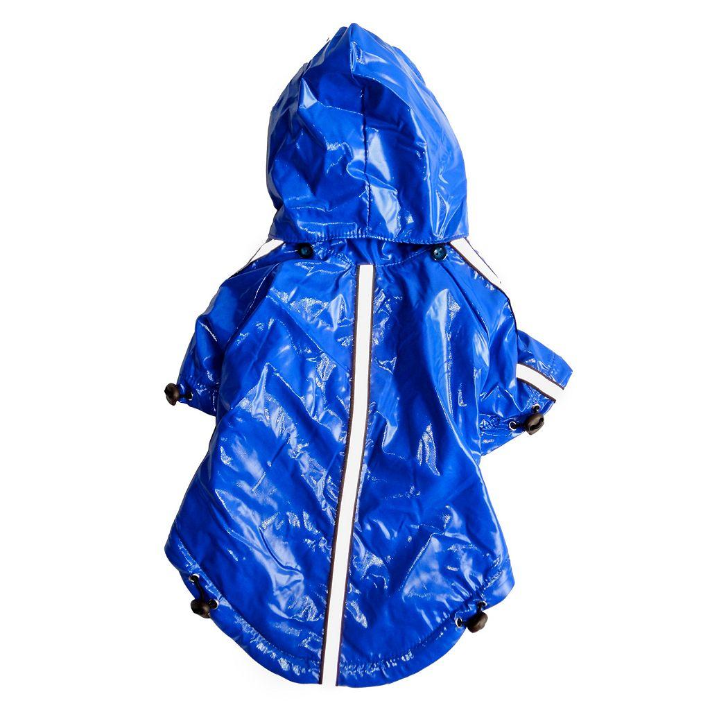 Royal Animals Dog Raincoat with Removable Hood