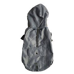 Royal Animals Dog Raincoat with Pocket & Removable Hood