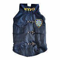 Royal Animals NYPD Police Badge Dog Coat
