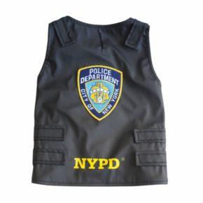 Royal Animals NYPD Police Badge Dog Vest