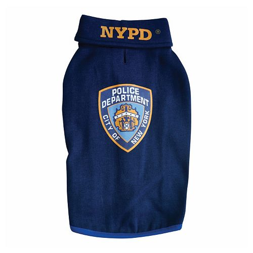 Royal Animals NYPD Police Badge Dog Sweatshirt