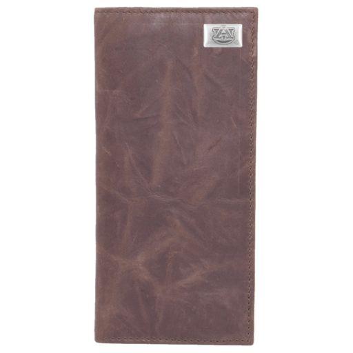 Auburn Tigers Leather Secretary Wallet