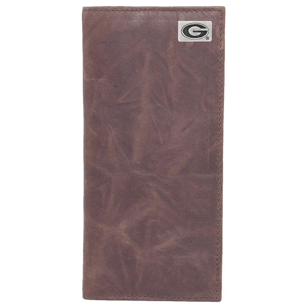 Georgia Bulldogs Leather Secretary Wallet