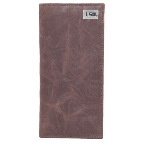 LSU Tigers Leather Secretary Wallet
