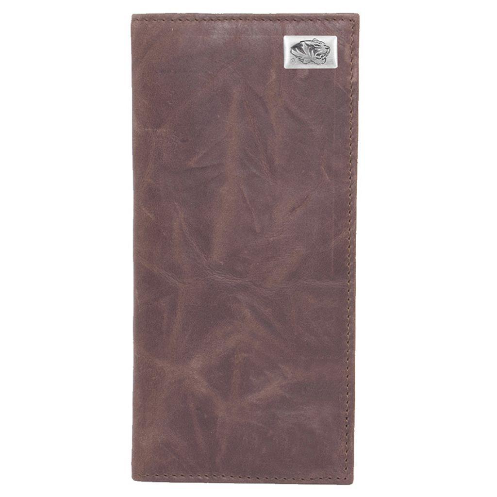 Missouri Tigers Leather Secretary Wallet