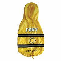 Royal Animals FDNY Fire Badge Dog Raincoat