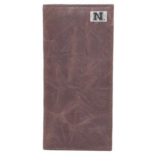 Nebraska Cornhuskers Leather Secretary Wallet
