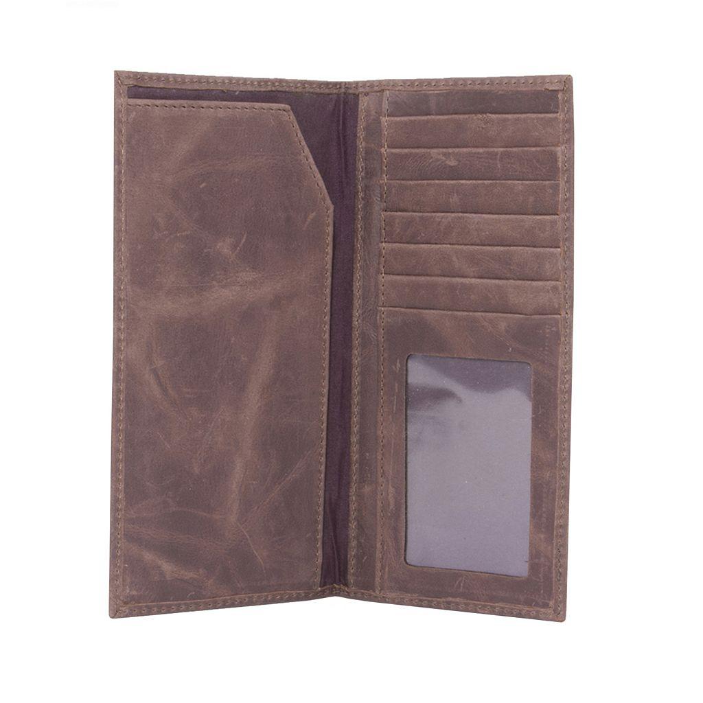 Alabama Crimson Tide Leather Secretary Wallet