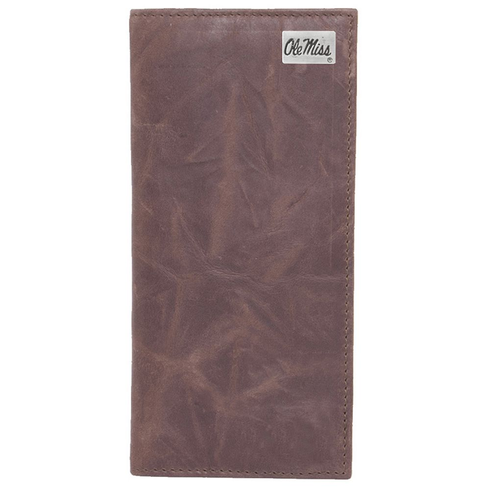 Ole Miss Rebels Leather Secretary Wallet
