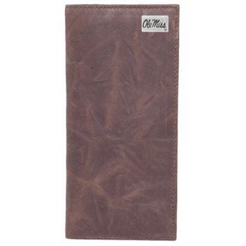 Ole Miss Rebels Leather Secretary Wallet