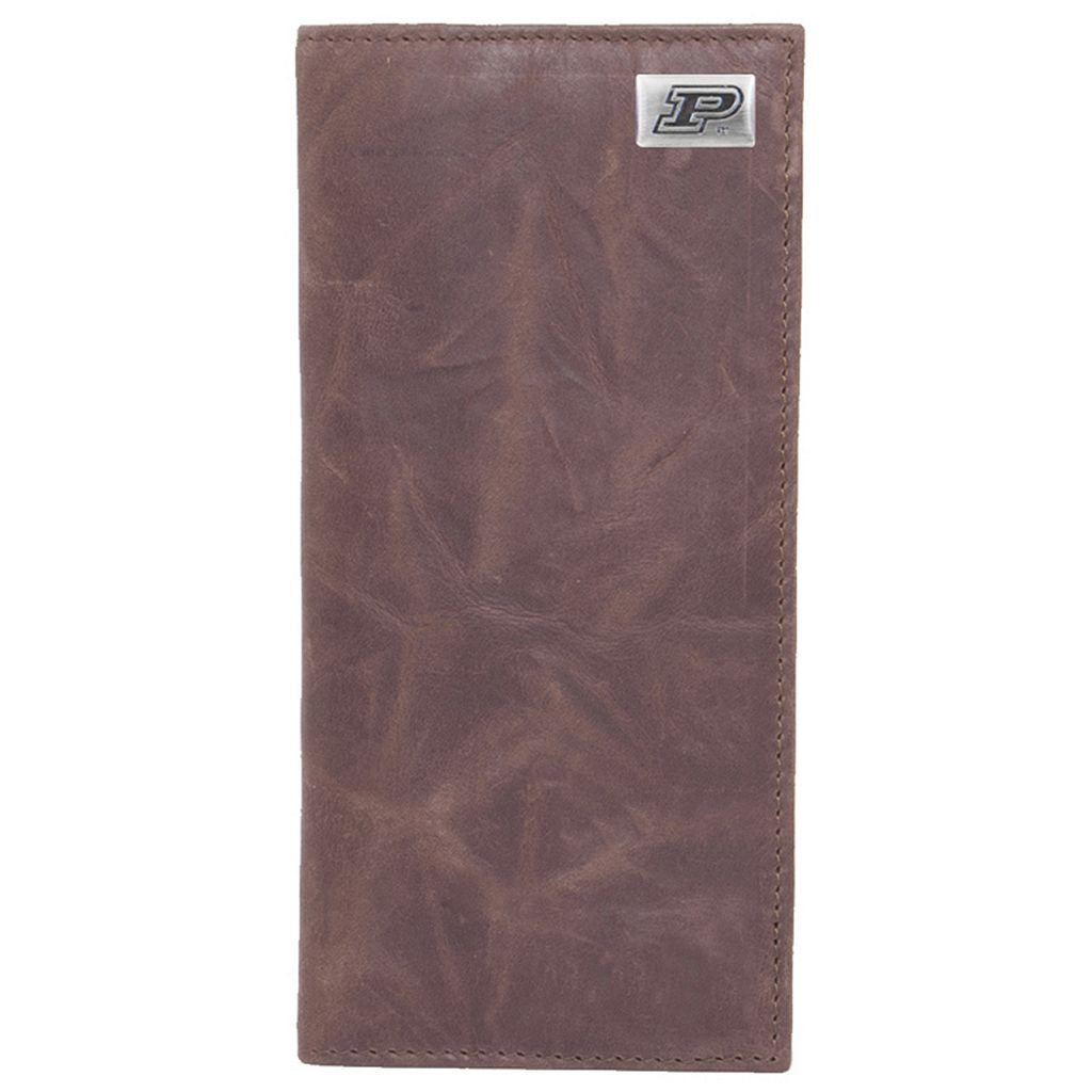 Purdue Boilermakers Leather Secretary Wallet