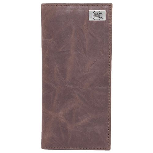 South Carolina Gamecocks Leather Secretary Wallet