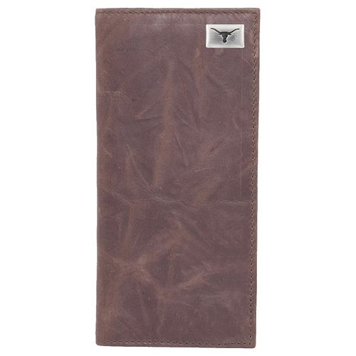 Texas Longhorns Leather Secretary Wallet